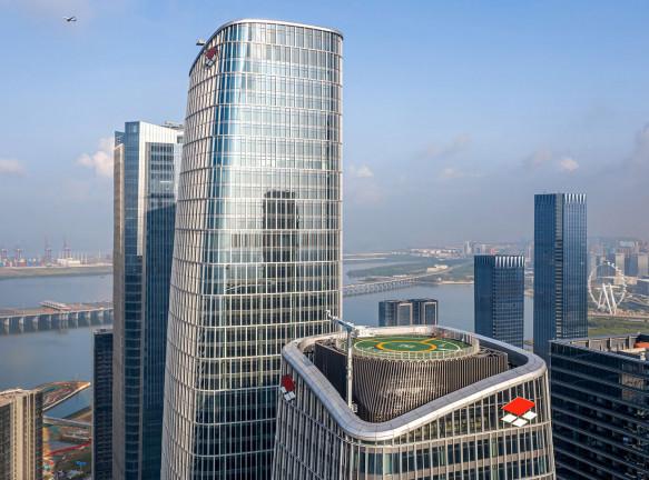 Шесть небоскребов в Шэньчжэне по проекту Farrells