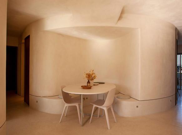 Gitai Architects: пентхаус в Яффе со стенами из земли