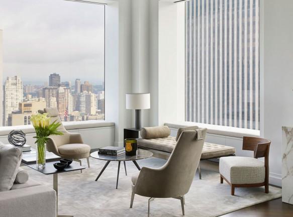 Небихе Джихан: пентхаус в самой высокой башне Нью-Йорка