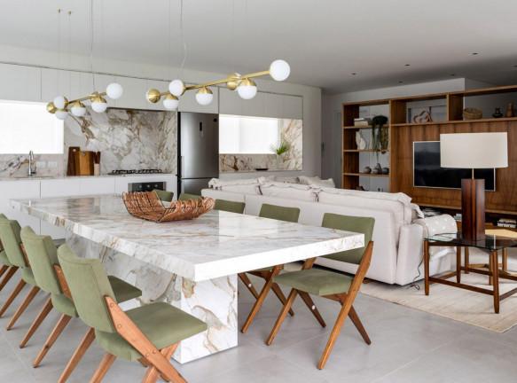 Пляжная квартира с бразильским дизайном
