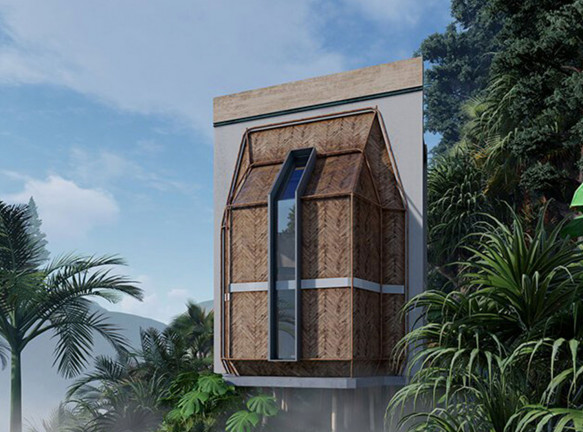 Shomali Design Studio: дома в джунглях Бали