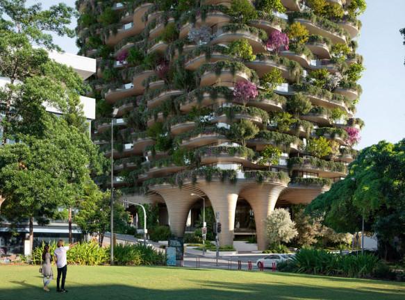 Koichi Takada Architects: самый зеленый жилой дом в мире