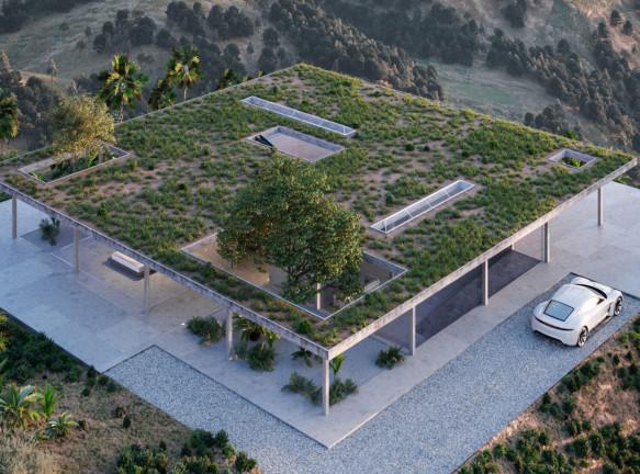Вилла в Голливуде: новый модернизм Марка Торпа