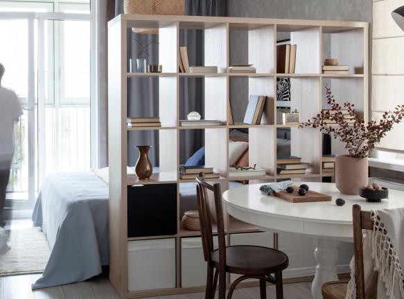 Любовь Уткина: квартира-студия 29 кв. метров в Петербурге