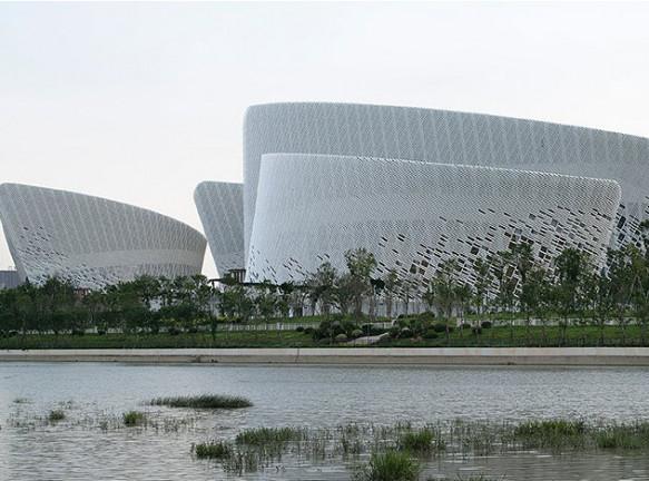 Культурный центр в Фучжоу по проекту PES-architects