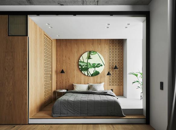 ZE|Workroom studio: маленькая квартира 47 кв. метров в Москве