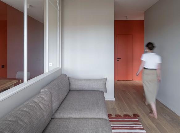 Квартира площадью 66 кв. метров по проекту бюро FREYA Architects