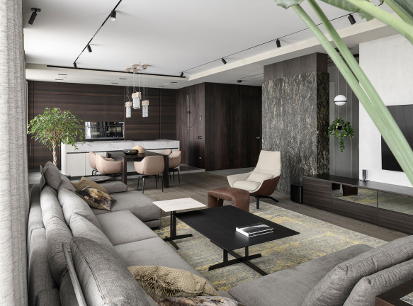 V. Concept Studio: семейная квартира в Киеве