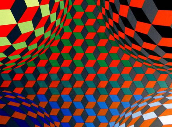 Виктор Вазарели: движение и головокружение