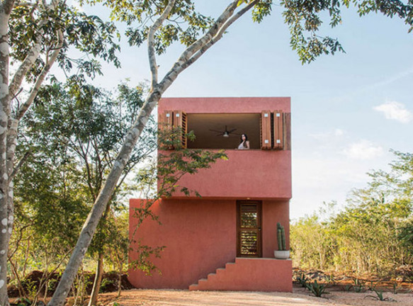 TACO: маленький дом для отпуска в Мексике