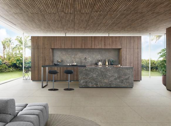 Leicht: новая кухня Bossa