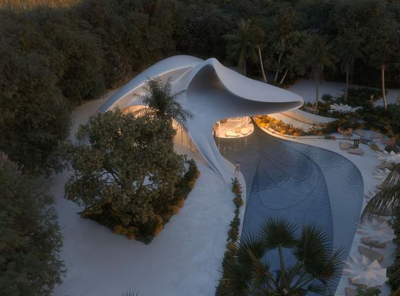 Mask Architects: концепция виллы на Сардинии