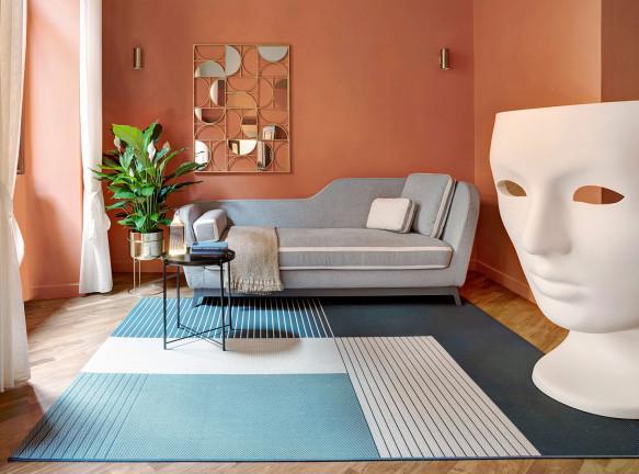 Цветная квартира в центре Рима по проекту Venturoni