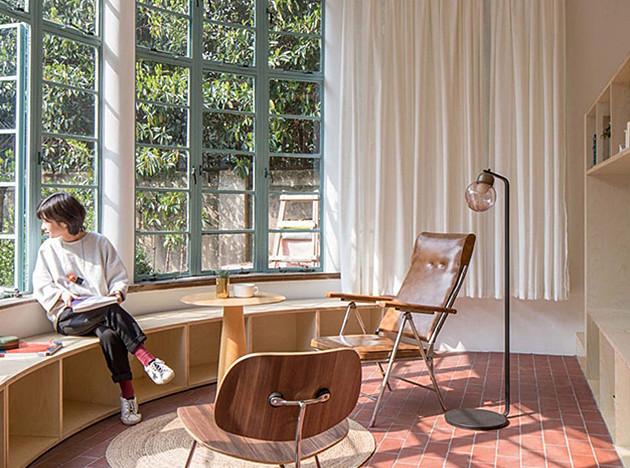 Atelier tao + c: маленькая квартира на первом этаже