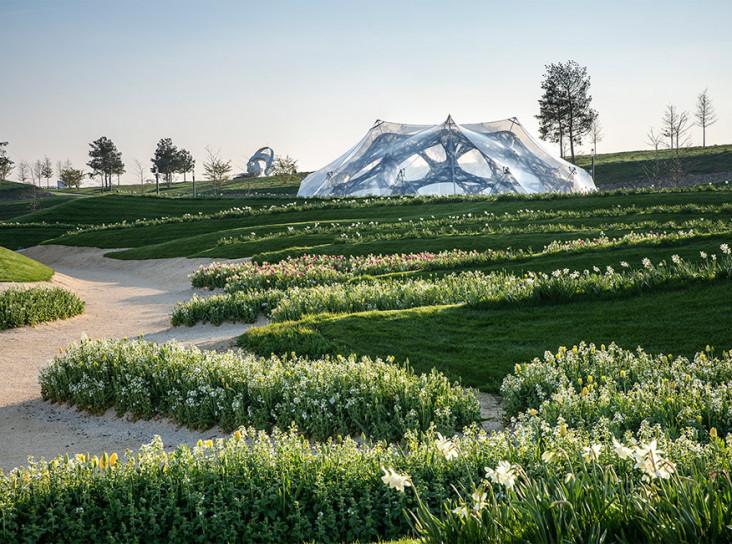 Архитектура и робототехника: биомиметические павильоны BUGA 2019