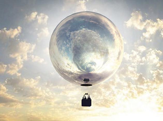 Дуг Эйткен запустит зеркальный воздушный шар