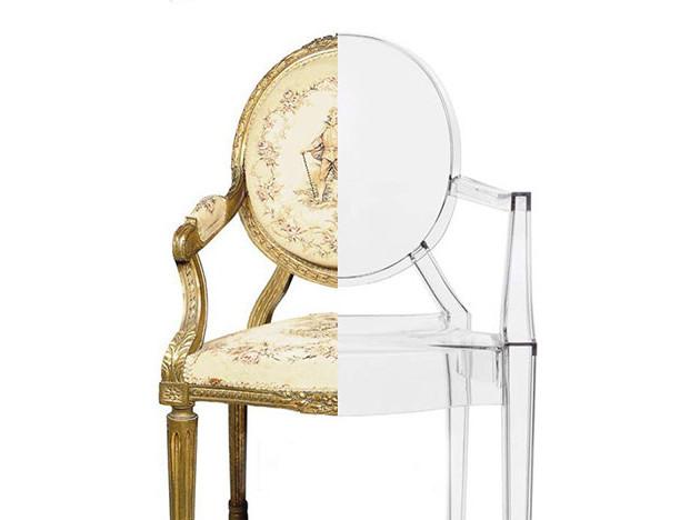 100 лет дизайна: стул-привидение Филиппа Старка