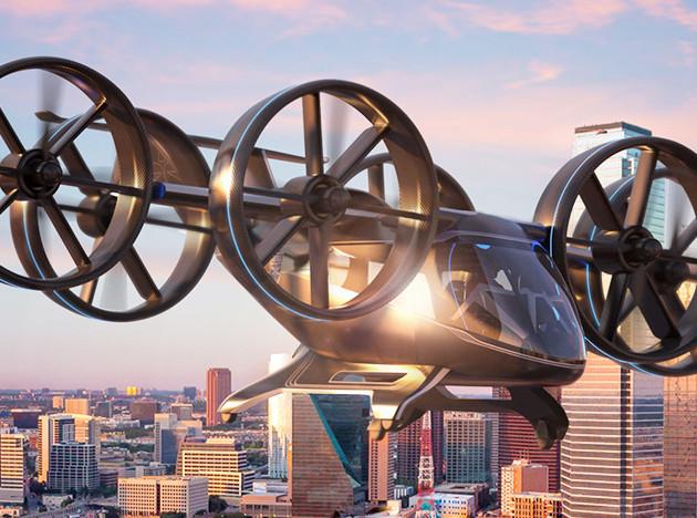 Uber и Bell показали летающее такси