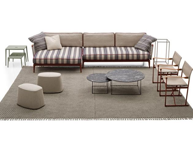 B&B Italia 2019: коллекция мягкой мебели Ribes
