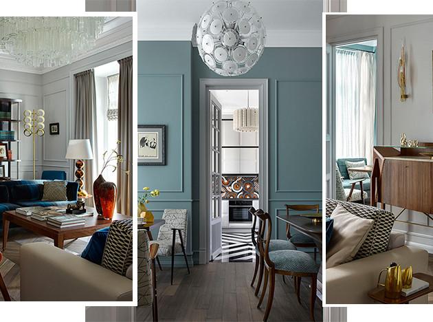 Натела Манкаева: квартира с коллекционным дизайном