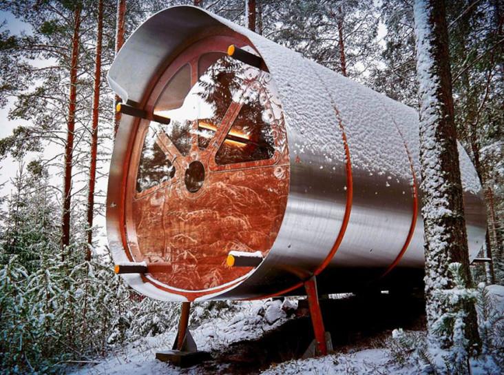 Tree Tents: кабина для автономной жизни