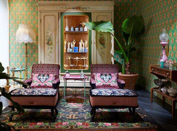 Миланская неделя дизайна: дом декора Gucci
