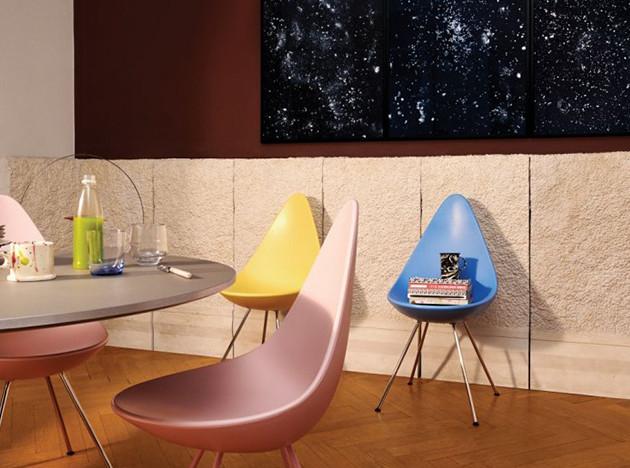 Fritz Hansen 2019: новые цвета стульев Арне Якобсена