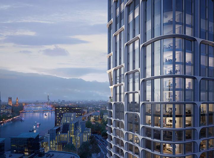 Zaha Hadid Architects построят башни в Лондоне