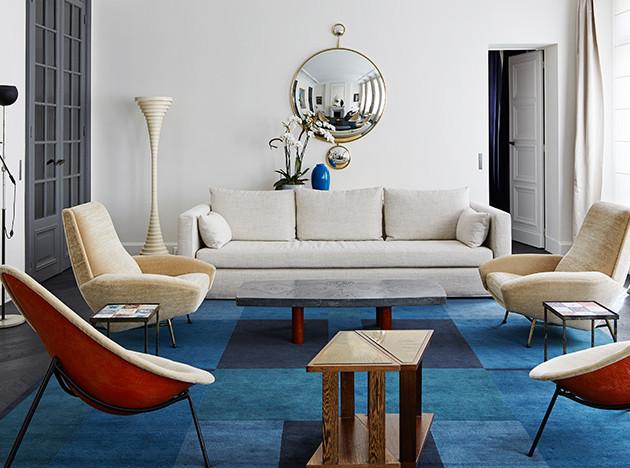 Cара Лавуан и парижская квартира для друзей