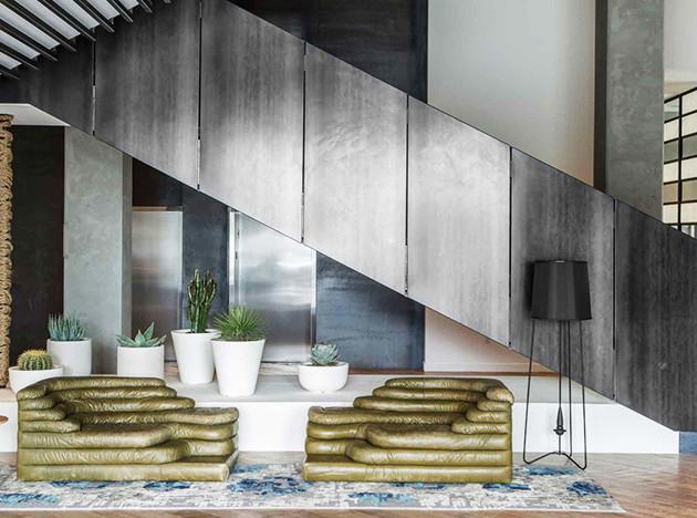 Отель в Палм-Спрингс: интерьеры Powerstrip Studio