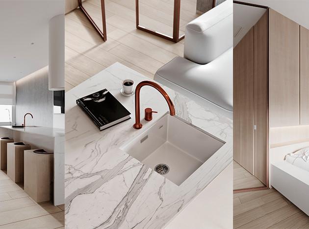 М3 Architects: квартира на курорте