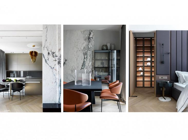 NIDO Interiors: квартира  для трех поколений семьи