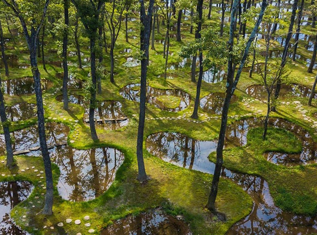 Сад архитектора Дзюньи Исигами получил премию Obel
