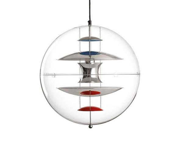 100 лет дизайна: светильник VP Globe Вернера Пантона