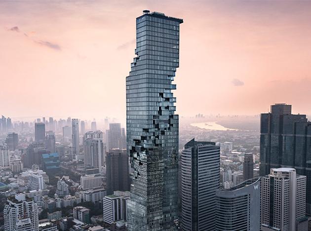 Büro Ole Scheeren: небоскреб в Бангкоке