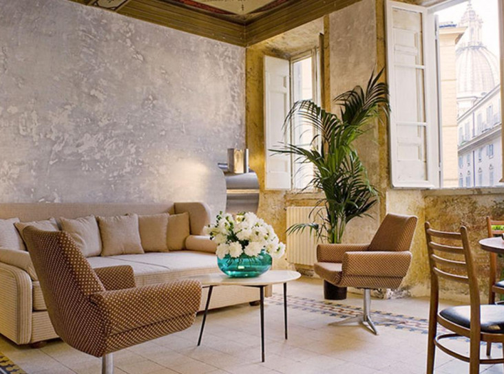 Отель G-Rough: семейный дворец Салини в Риме