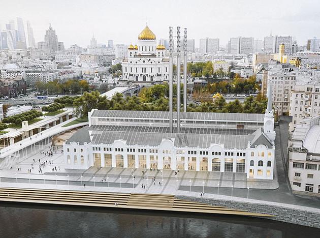 Ренцо Пьяно рассказывает о реконструкции ГЭС-2 в Москве