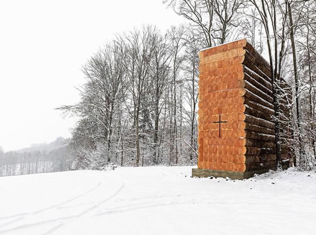 Джон Поусон: часовня на краю леса