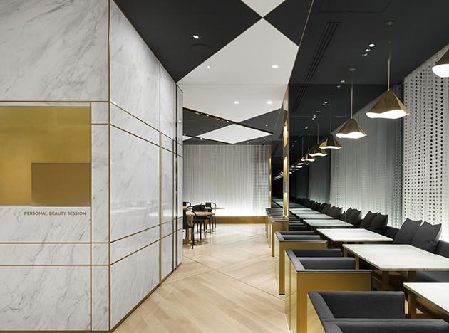 Студия Nendo завершила реконструкцию флагмана Shiseido в Токио