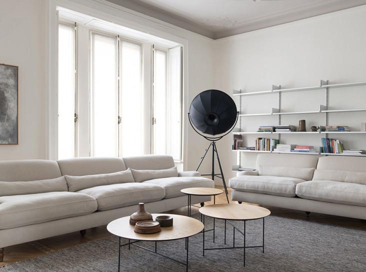Алессандра Сакки: тихая квартира в Милане