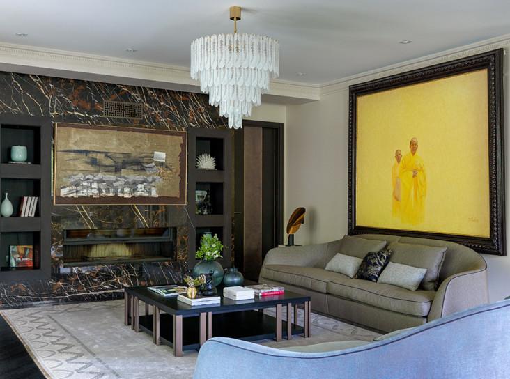 GS Interiors Design: подмосковный дом с восточным колоритом
