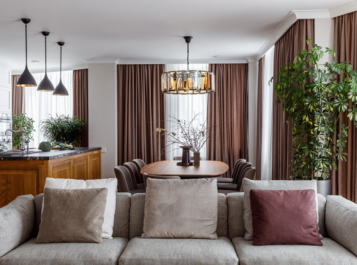 Архитектурная группа Chado: семейная квартира в Москве
