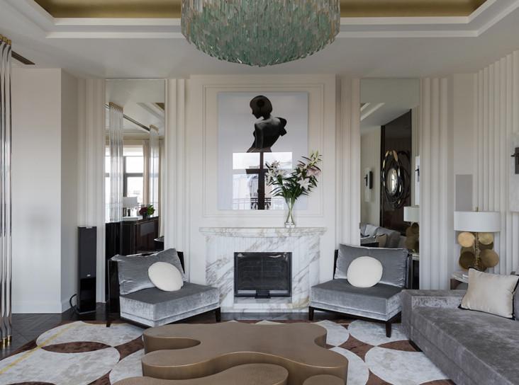 Марина Филиппова: квартира 300 кв. метров в клубном доме