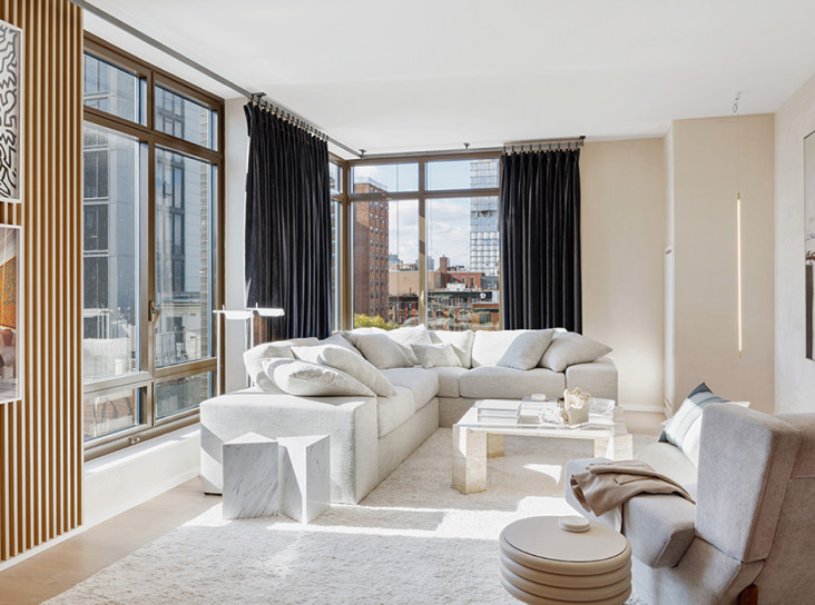 Тимоти Годболд: апартаменты с террасой на Манхэттене
