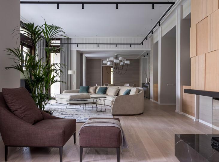 TS-Design: дом с бассейном в Барвихе
