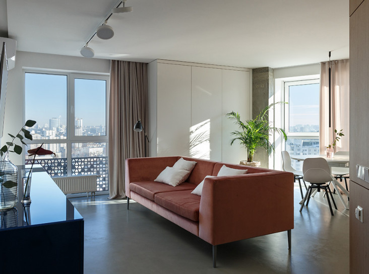 SVOYA Studio: квартира, где хорошо встречать рассвет