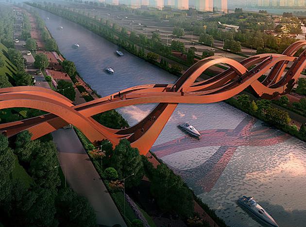 Next Architects: мост-аттракцион в Китае