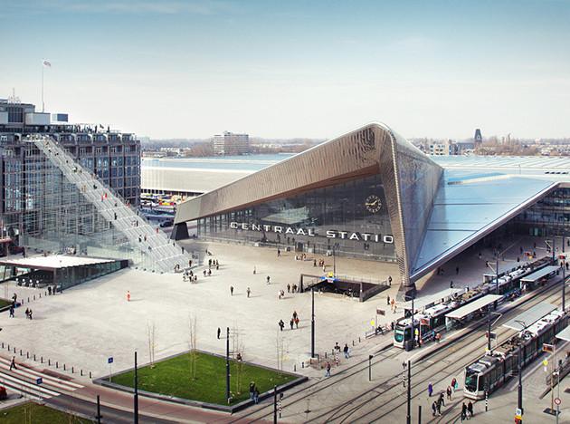 MVRDV: гигантская лестница в Роттердаме