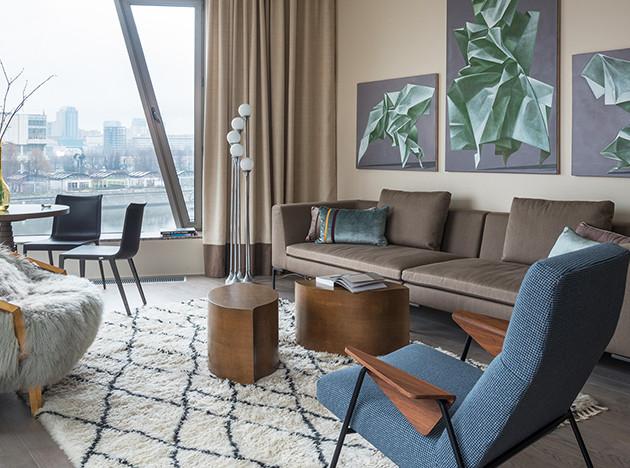 PropertyLab+art: квартира на Пречистенской набережной