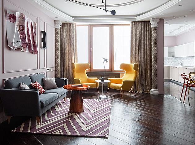 Buro 19.23: «китайская» квартира в Москве